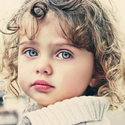 Little girl with curly hair tumblr