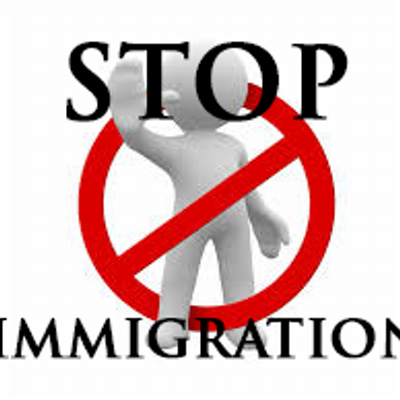 Image result for stop immigration