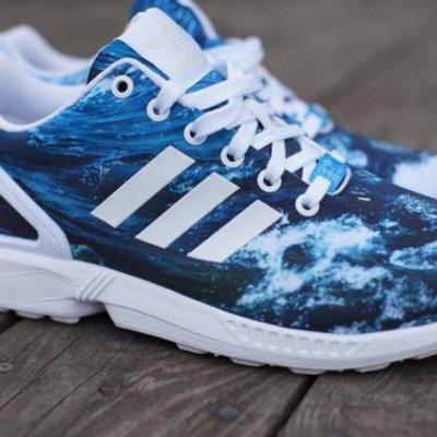 design intemporel 189c5 ec0e9 Adidas Zx flux on Twitter: