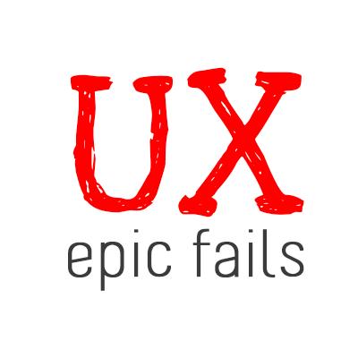 UX Epic Fails (@uxepicfails) | Twitter