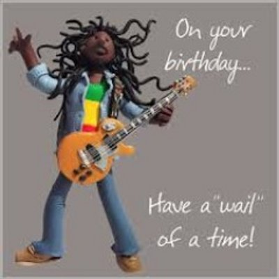 Image result for reggae birthday greetings