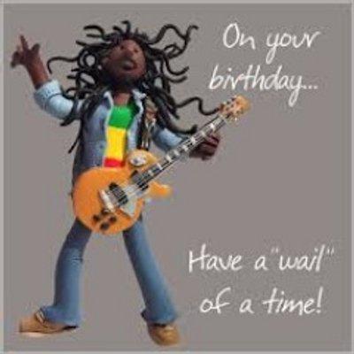 Image result for reggae birthday greetings