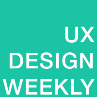 UX Design Weekly Blog - twitter profile