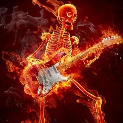 cool rock skull live wallpaper - photo #19