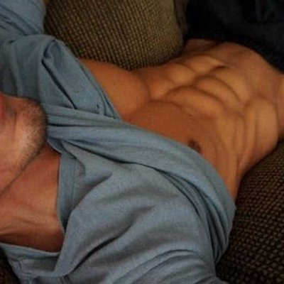 Cock and abs