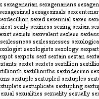 sexyeveryword