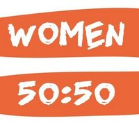 Twitter profile picture for @Women5050
