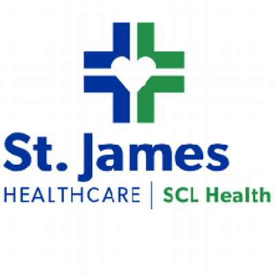 St. James Healthcare logo