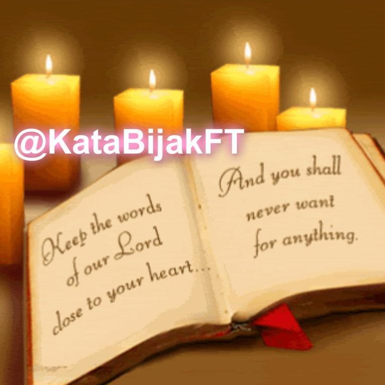 Photos and videos by Kata Bijak Alkitab (@KataBijakFT) | Twitter
