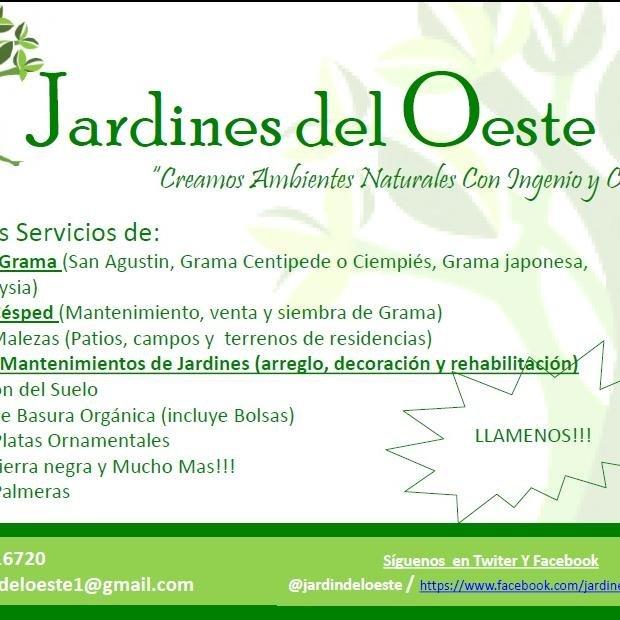 Jardines del oeste jardindeloeste twitter for Cementerio jardin del oeste