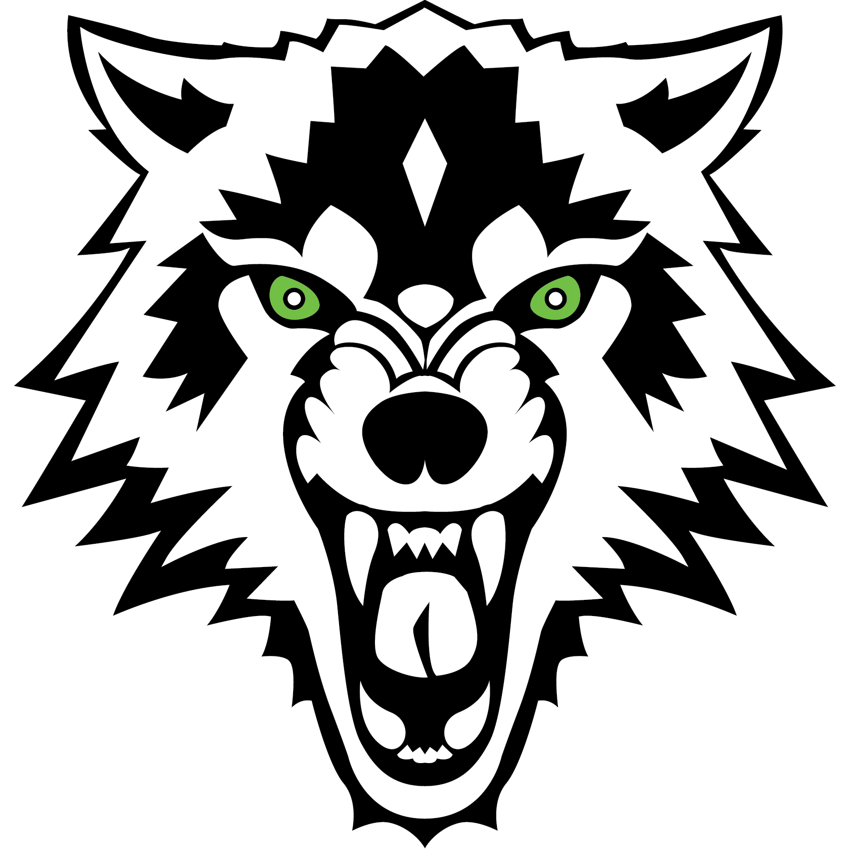 wolf head profile Wolves Head Clip Arts Wolf Head Silhouette