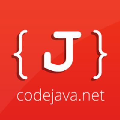 CodeJava net on Twitter: