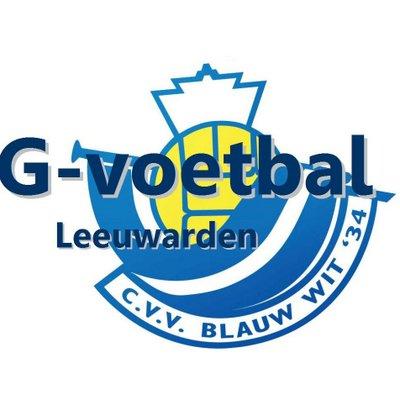 Blauw g logo