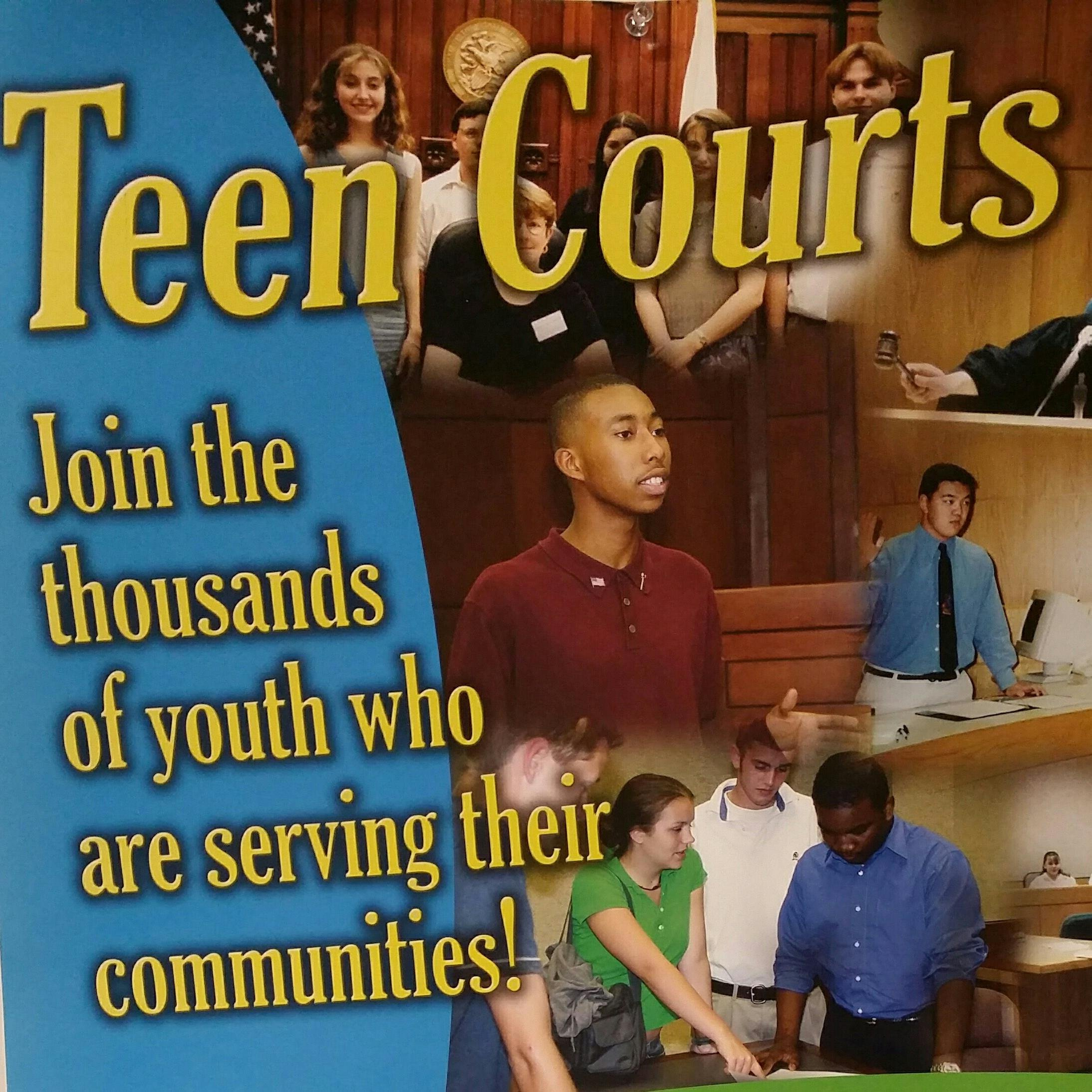 And serving on teen court