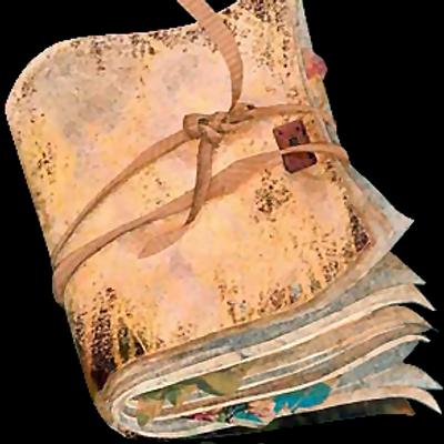 Бобры, рваные открытки