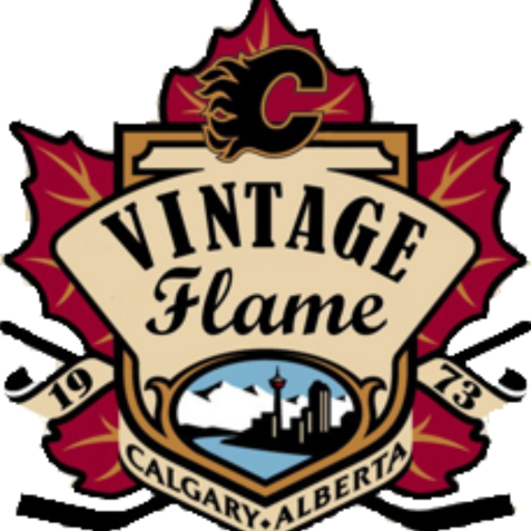 Vintage calgary flames are