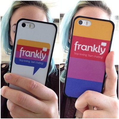 frankly chat app