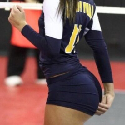 Big volleyball asses