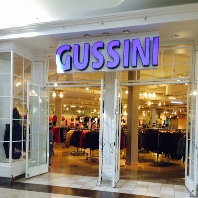 Gussini clothing store