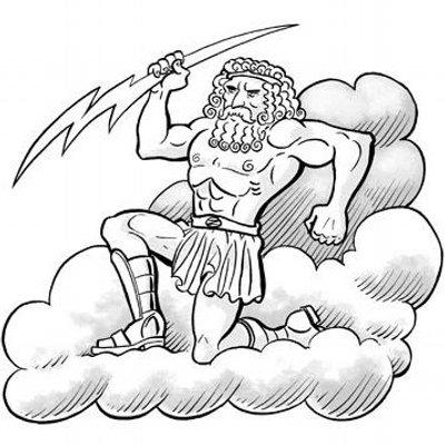 Раскраска мифы и легенды древней греции
