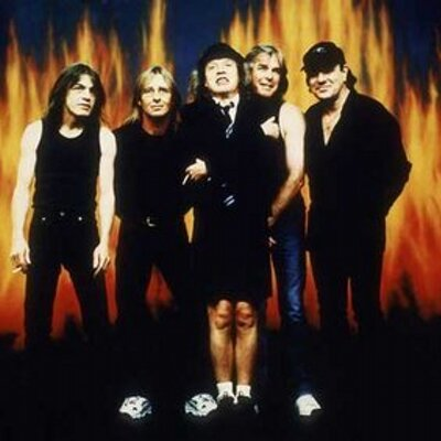 Twitter profile picture for AC/DC