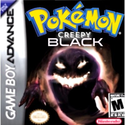 Pokémon Creepy Black on Twitter: