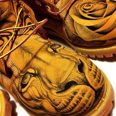 ULTAMiCiTi on Twitter: Check out Custom Timberland Boots