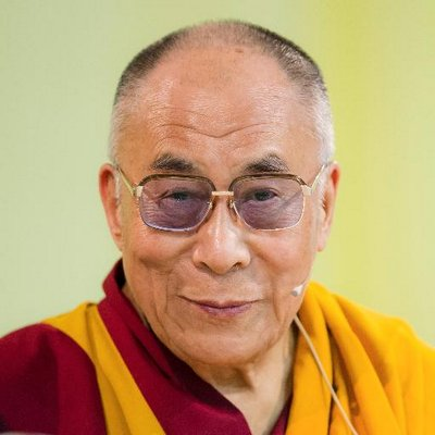 Twitter profile picture for Dalai Lama