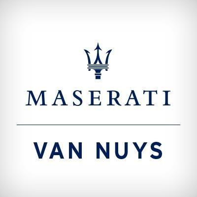 Van Nuys Maserati (@VanNuysMaserati) | Twitter