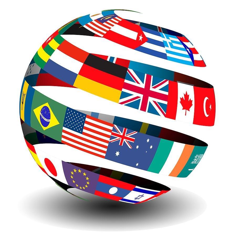 Image result for languages globe