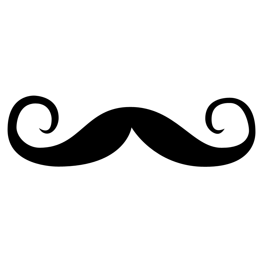 how to draw a french moustache