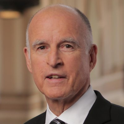 California Gov. Jerry Brown. (via Twitter/@JerryBrownGov)