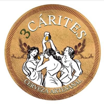 Resultado de imagen para logo cerveceria 3 carites