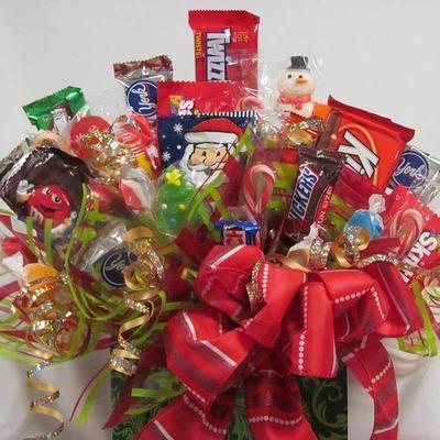 candy bouquet llc - Christmas Candy Bouquet