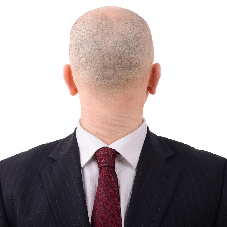Tall Man Short Hair