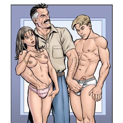 бисекс порно комиксы