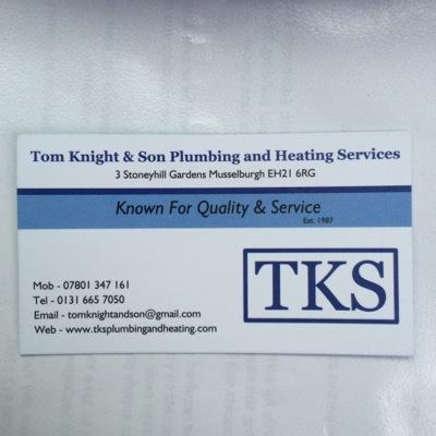 Image result for TKS plumbing musselburgh