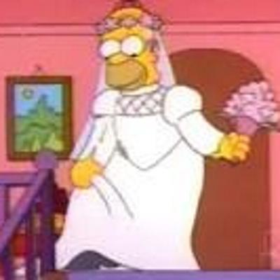 Simpson Mania On Twitter Homero Vestido Novia Httpt