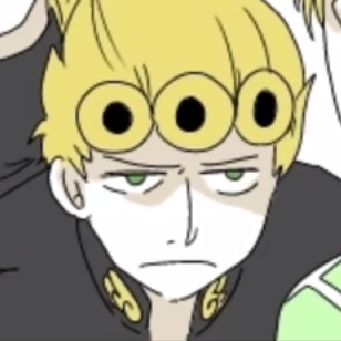 Giorno Giovanna On Twitter My Hair Isnt In The Shape Of Doughnuts