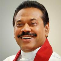 Mahinda Rajapaksa's Photos in @presrajapaksa Twitter Account