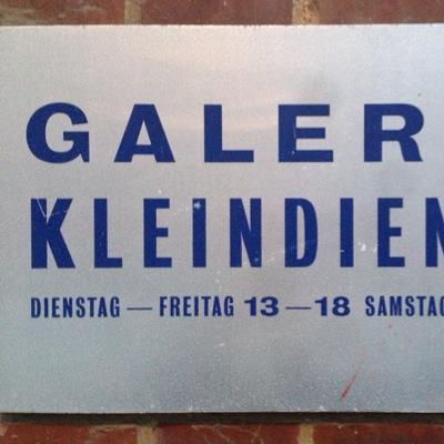 Kleindienst Berlin galerie kleindienst on tomorrow opening n more feat