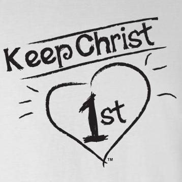 Image result for image keep Christ first""