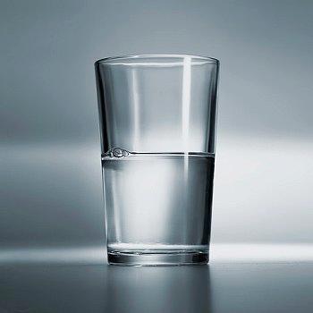 Resultado de imagen de vaso medio lleno