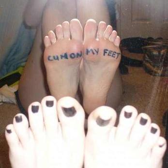 Cum On My Feet 42