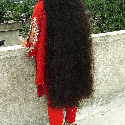 Indianrapunzels On Twitter Goddess Rekha Floor Length Hair