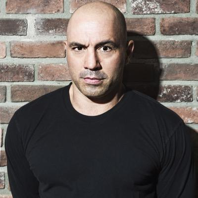 The 50-year old son of father (?) and mother(?), 176 cm tall Joe Rogan in 2017 photo