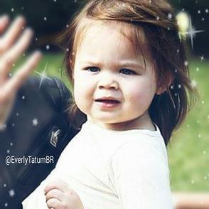 "Everly Tatum BR on Twitter: ""Novas fotos da família Tatum,Channing ..."