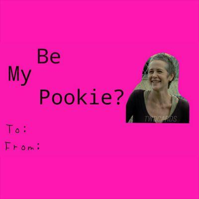 TWD Valentines Cards