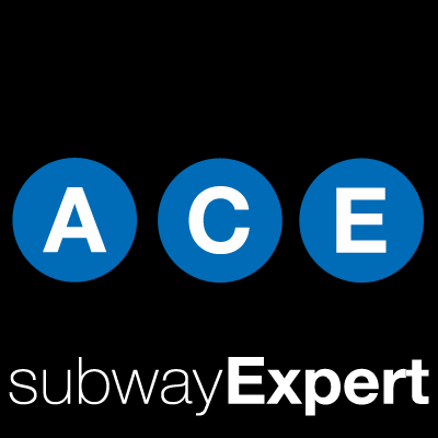 Nyc Subway Map A C E.Ace Subway Nyc Mtanowace Twitter