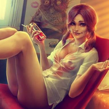 Angelica Raven Nude Gif